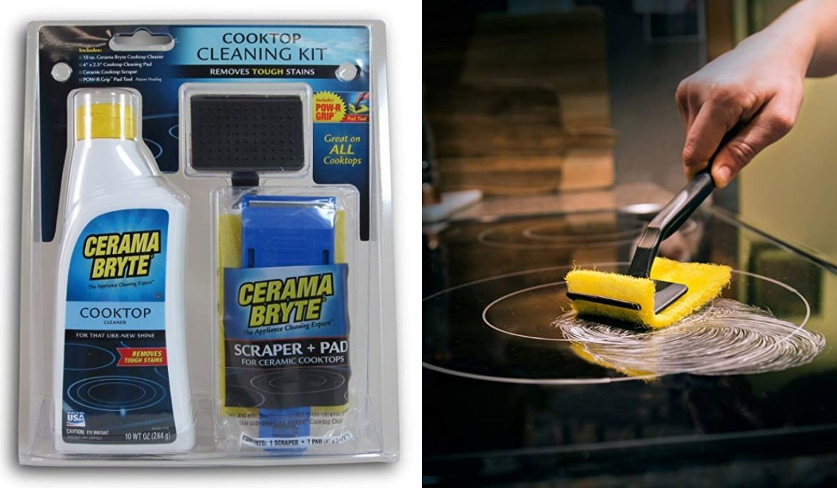 cerma bryte cooktop cleaning kit available on amazon