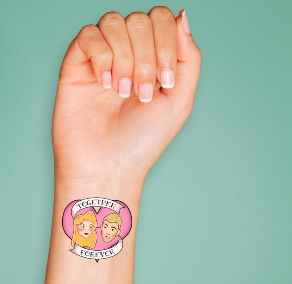 temporary tattoo wedding favor