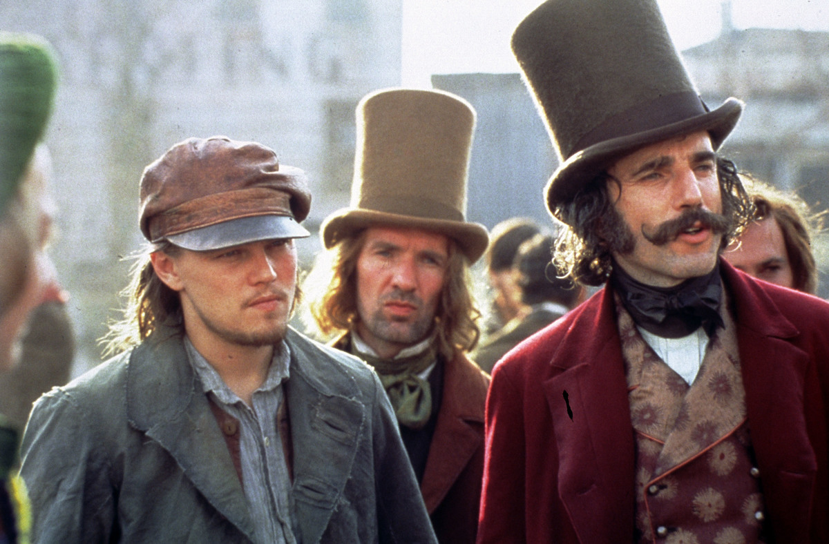 gangs of new york daniel day lewis and leo dicaprio
