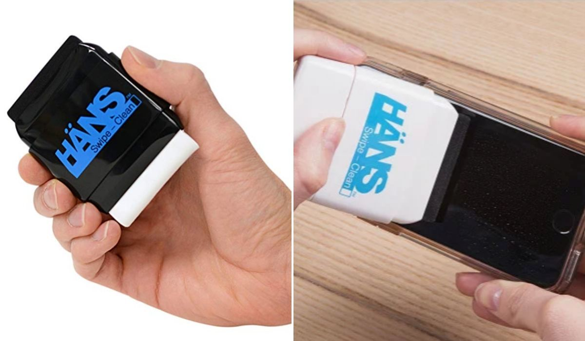 hans limited edition swipe cleaner for electronics