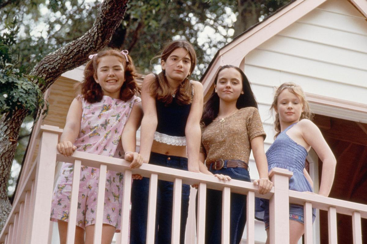 now and then  christina ricci and gabby hoffman
