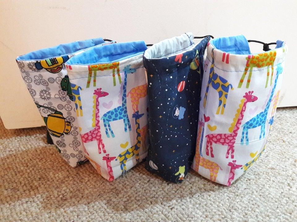 homemade bag wedding favor