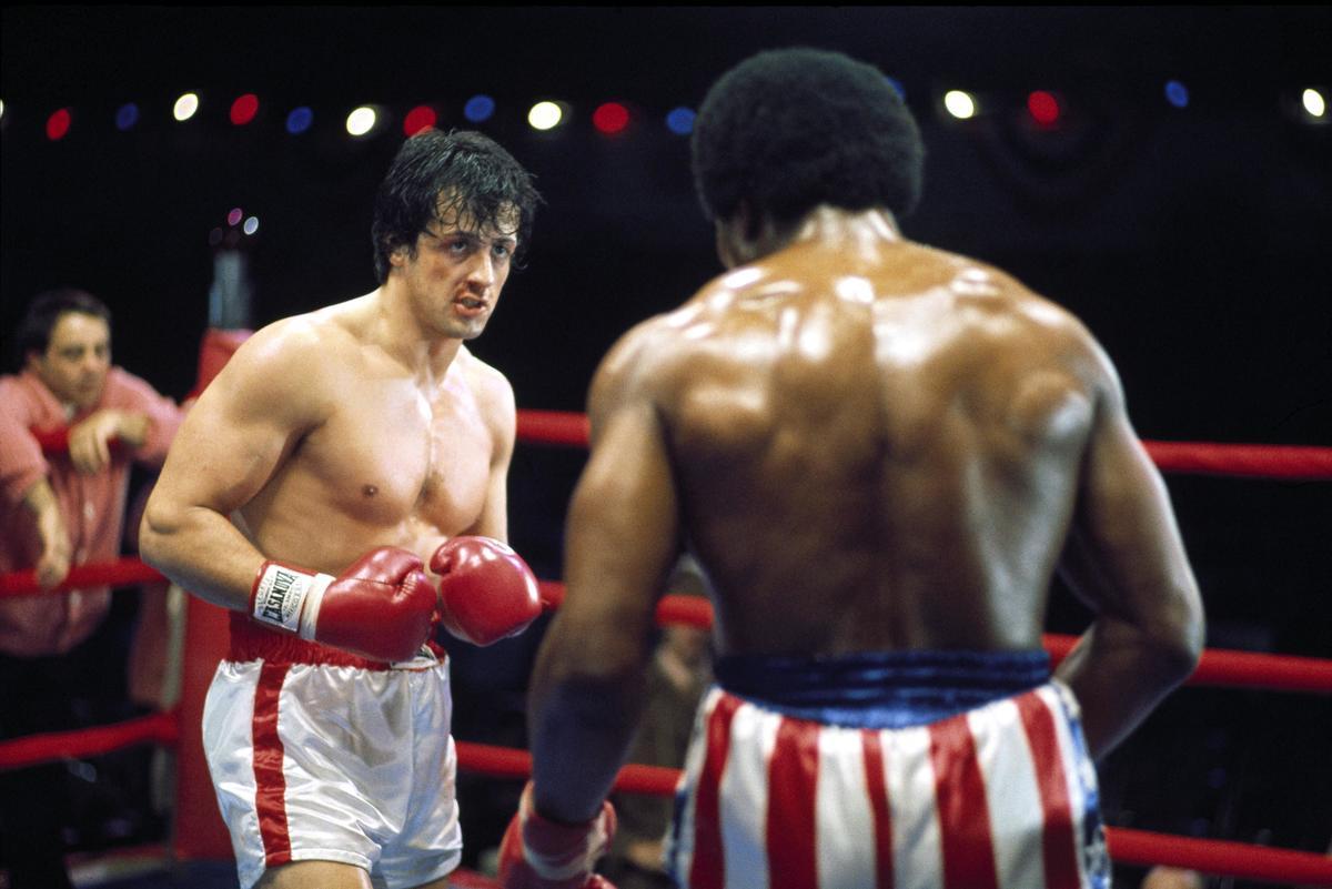rocky movie boxing scene