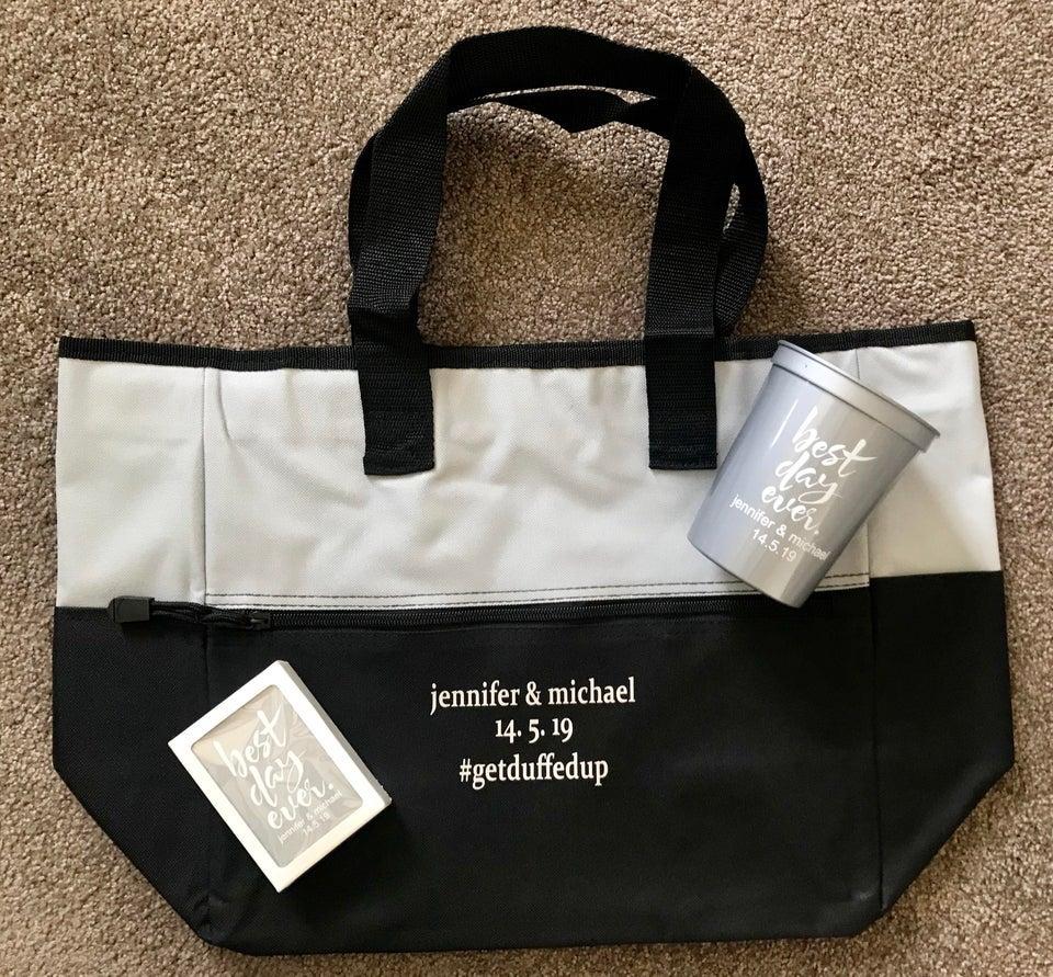 bag wedding favor