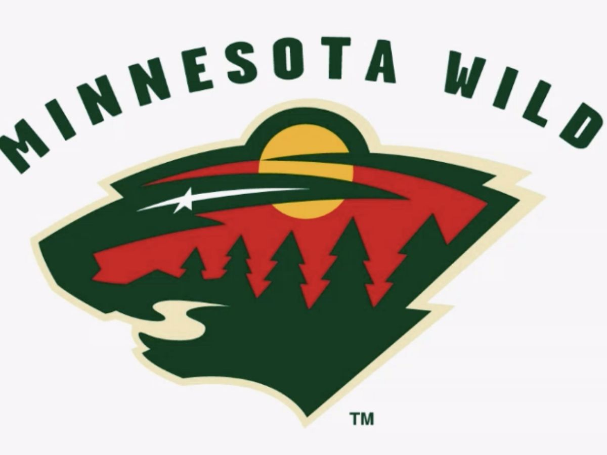 minnesota wild logo bear and trees