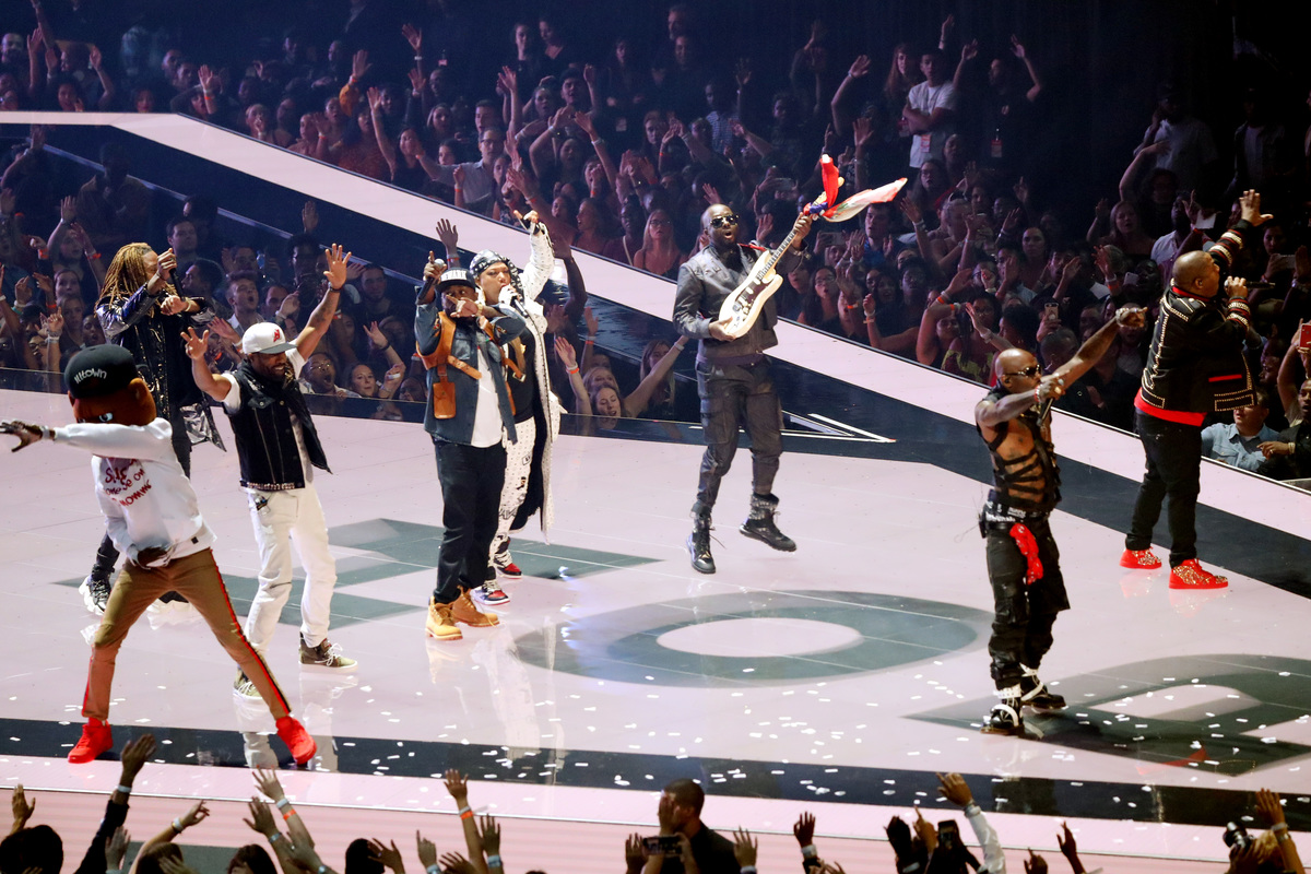 MTV VMAs finale in NEw JErsey with rappers