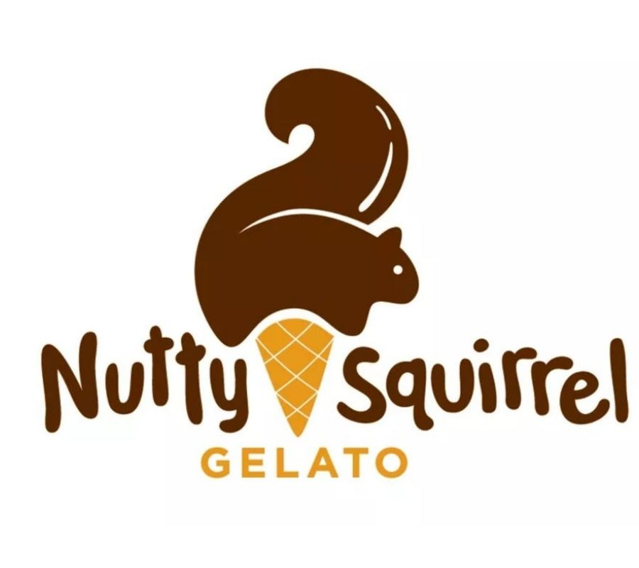 gleato logo looks like a squirrel