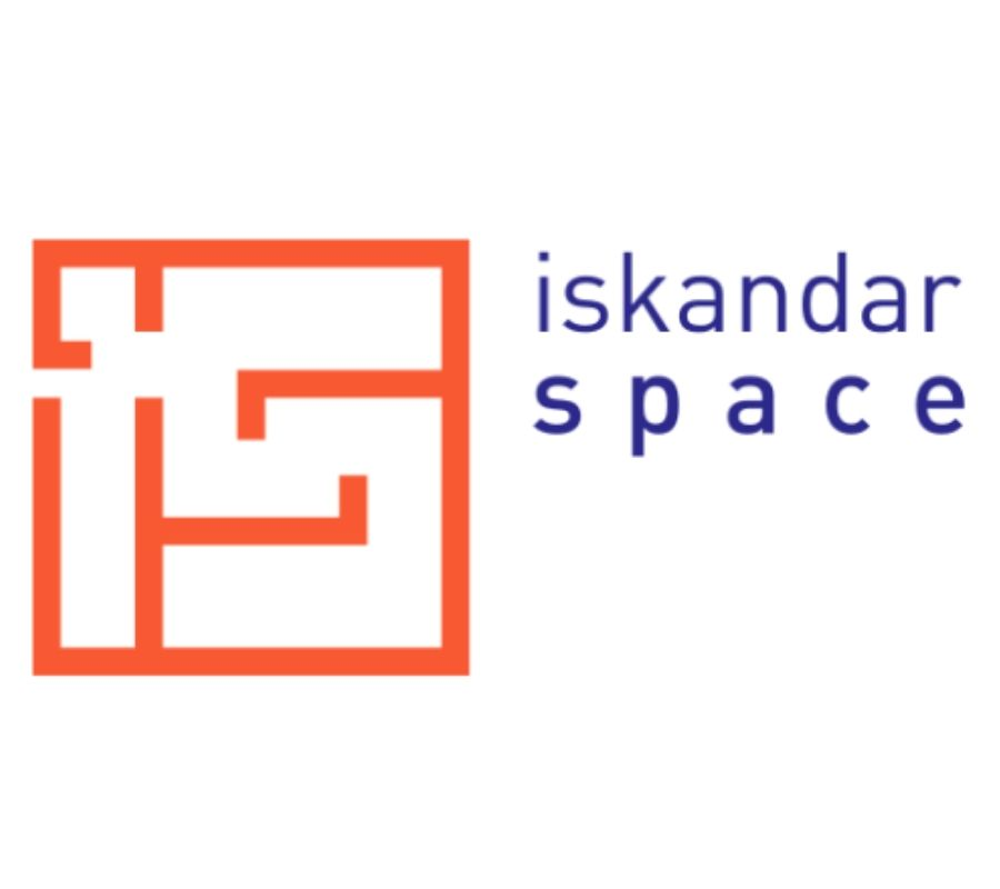 logo for coworking space design