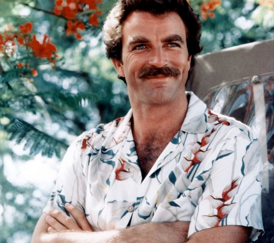 tom selleck smile