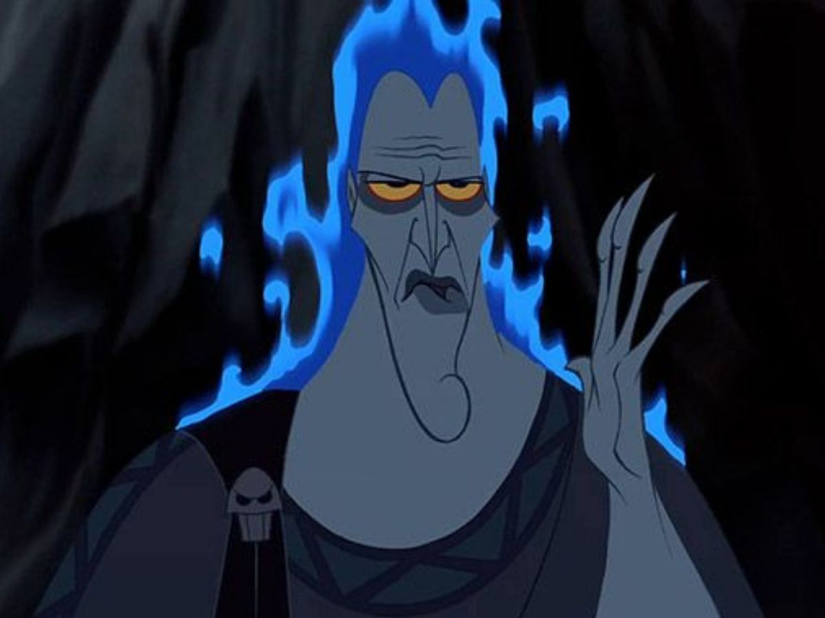 hades from hercules glowing blue