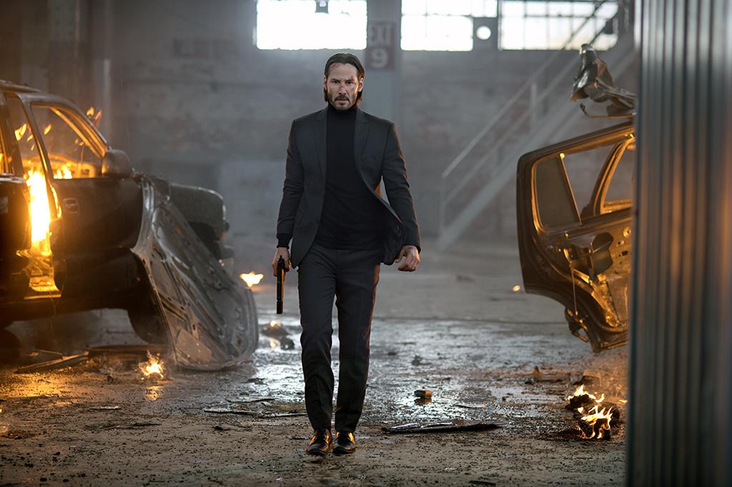 Keanu Reeves Walking