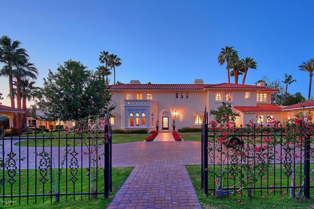 gated mansion phoenix arizona