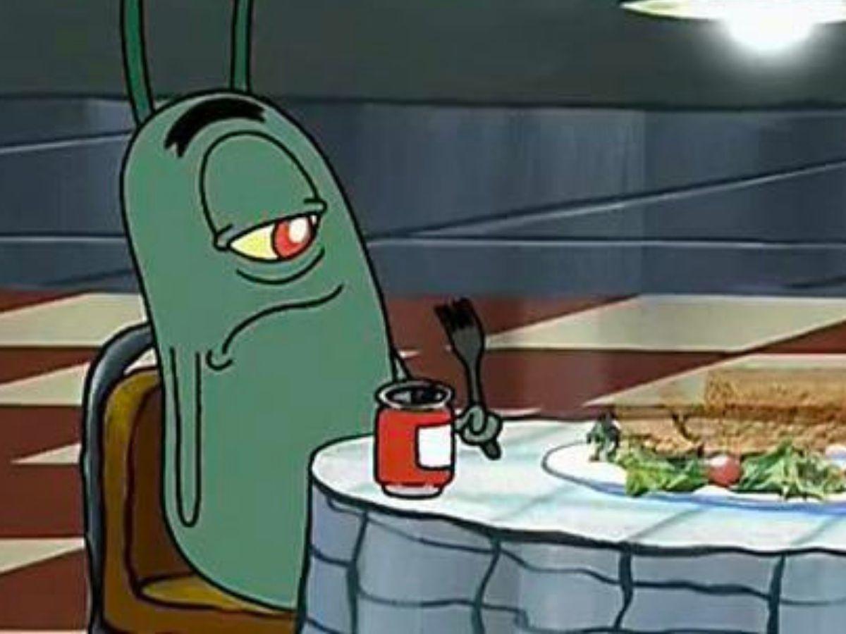 plankton in spongebob squarepants