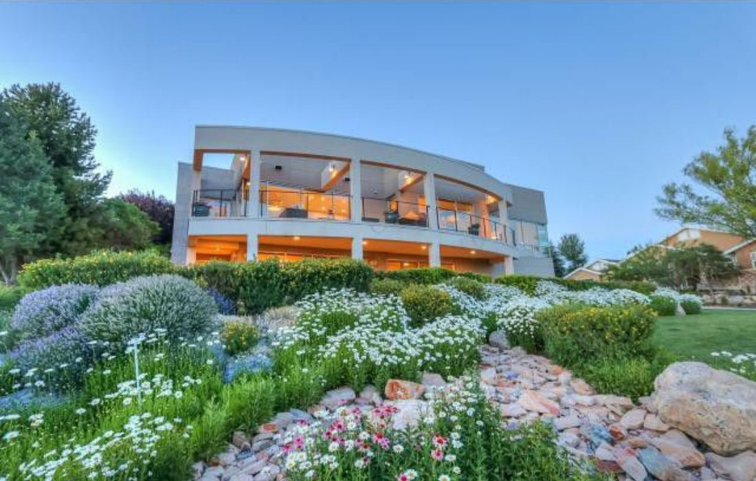 salt lake city hilltop home