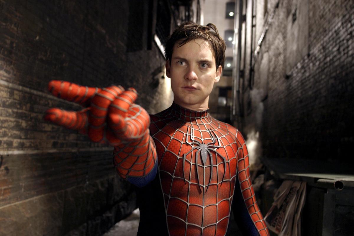 a still from spider man 2