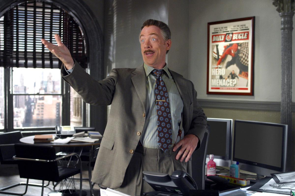 j jonah jameson was left out of the rebooted spider man franchise after jk simmons iconic performance