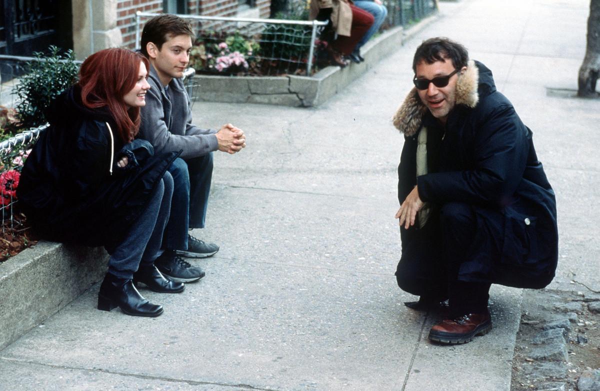 sam raimi directing spider-man in 2002