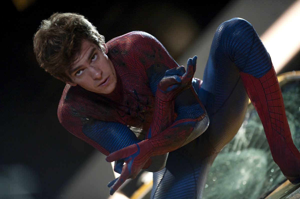 andrew garfield cried when he was cast as spider man