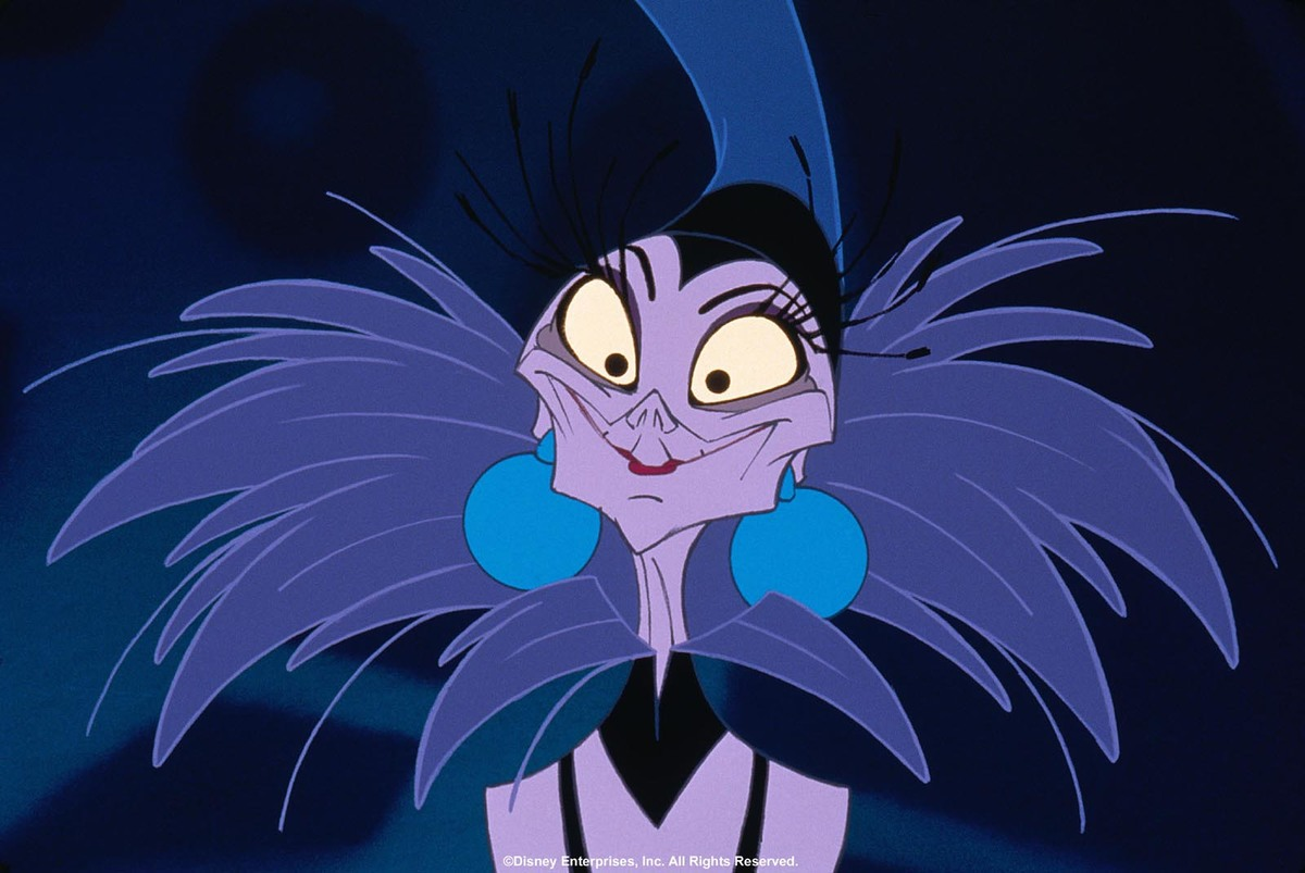 yzma from the emperors new groove