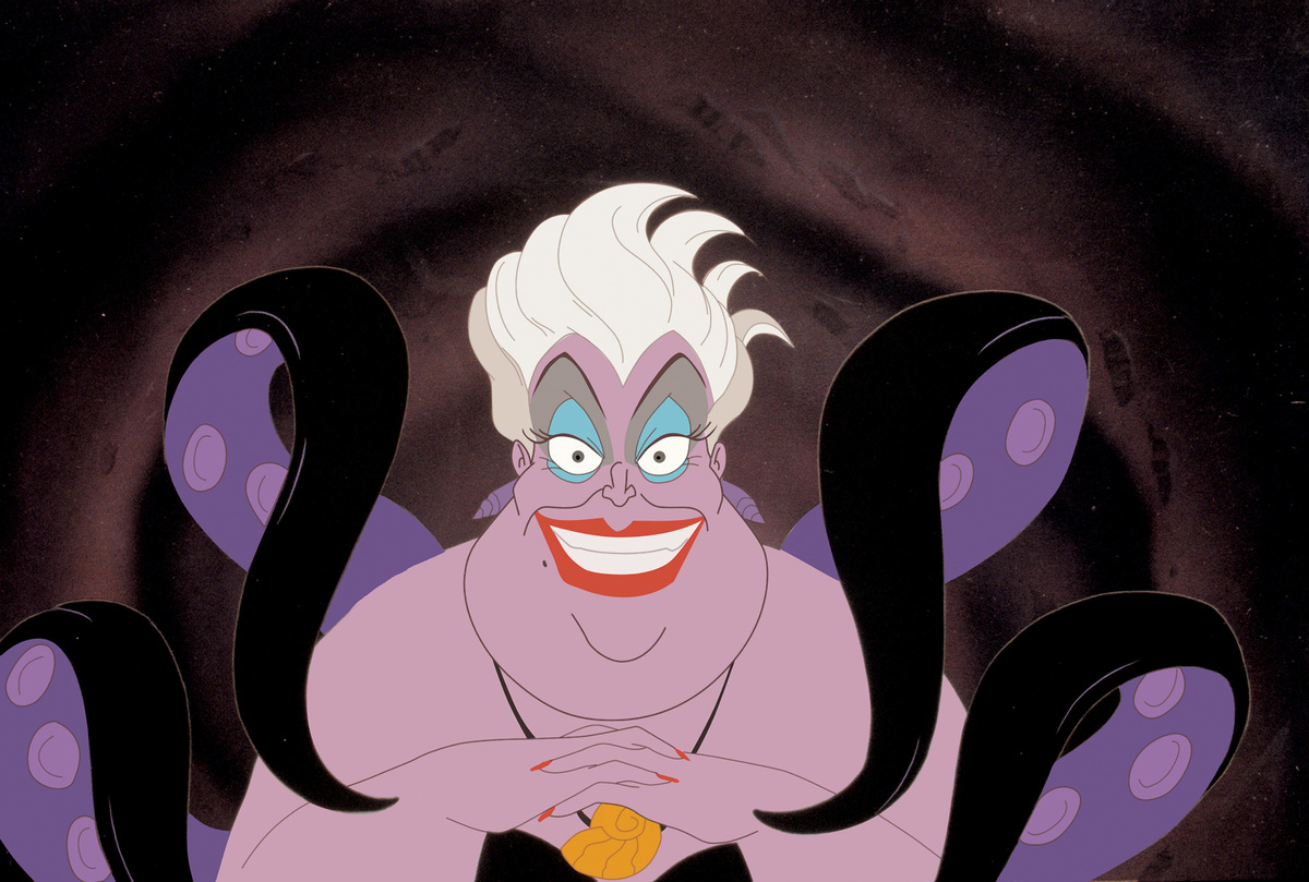ursuala sea witch in the little mermaid