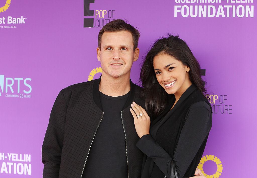 Dyrdek with his wife