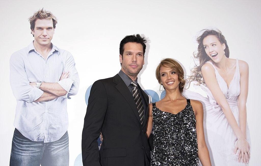 Jessica Alba and Dane Cook at the premiere of Good Luck Chuck