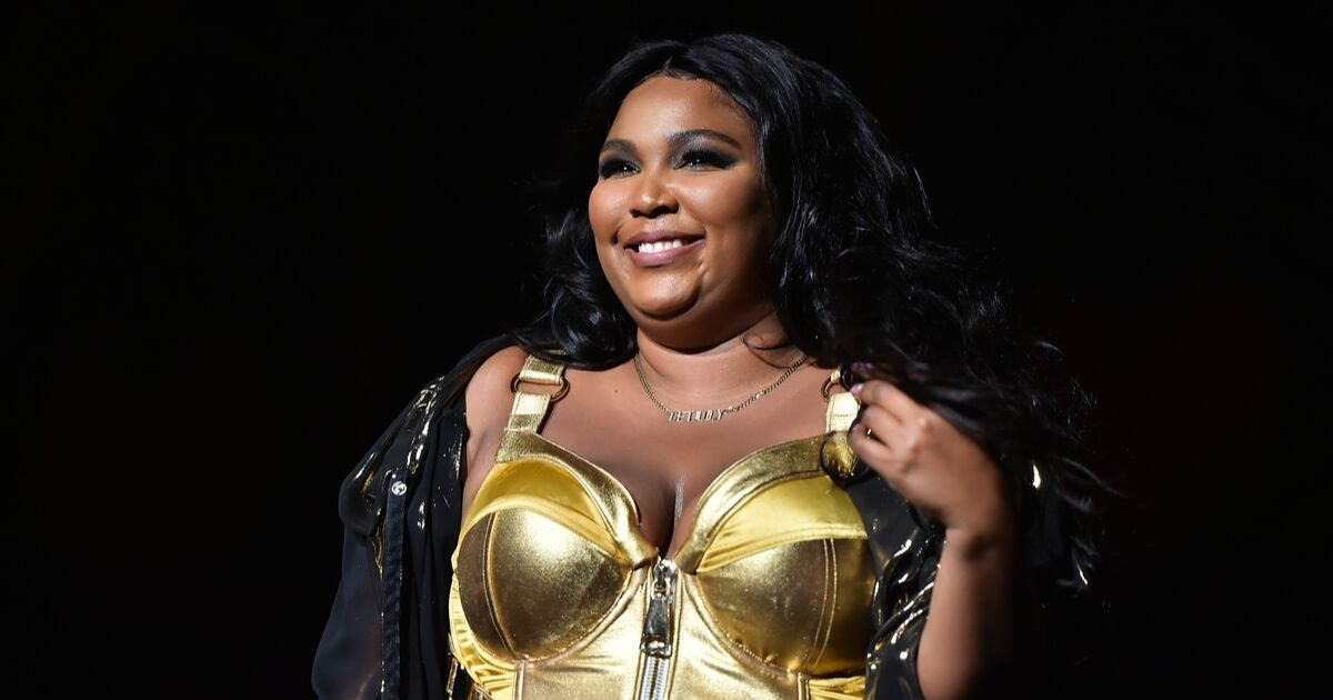 Lizzo performs at Radio City Music Hall on September 24, 2019 i