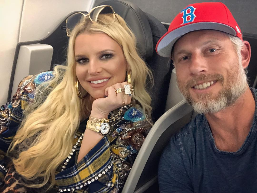 jessica simpson and husband Eric johnson