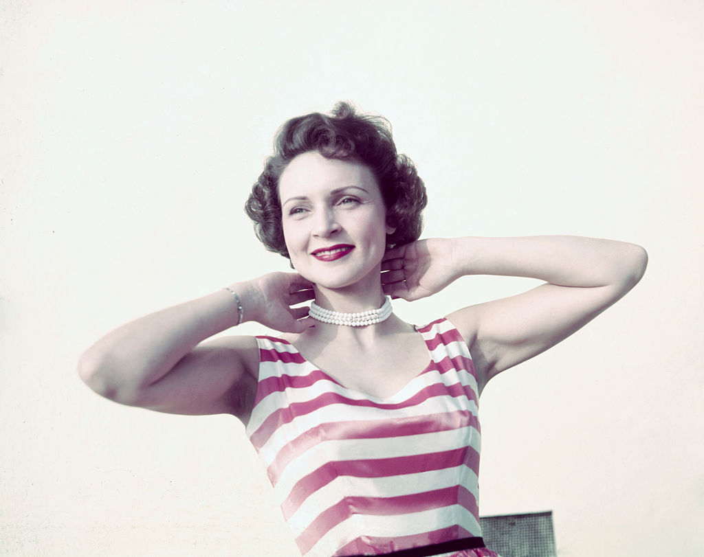 Betty White is shown in this photograph