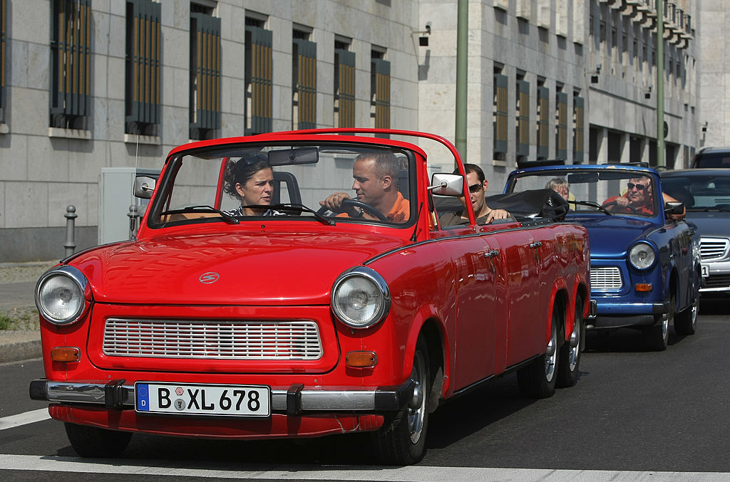 a trabant turned into a limo