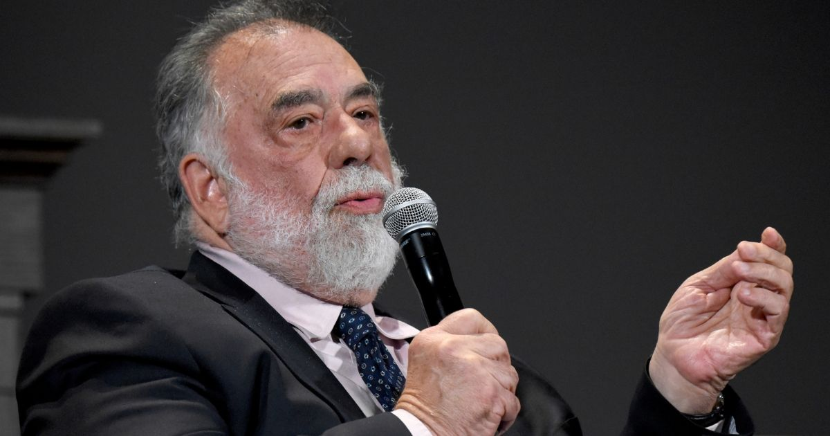 Director Francis Ford Coppola speaks onstage during the panel for