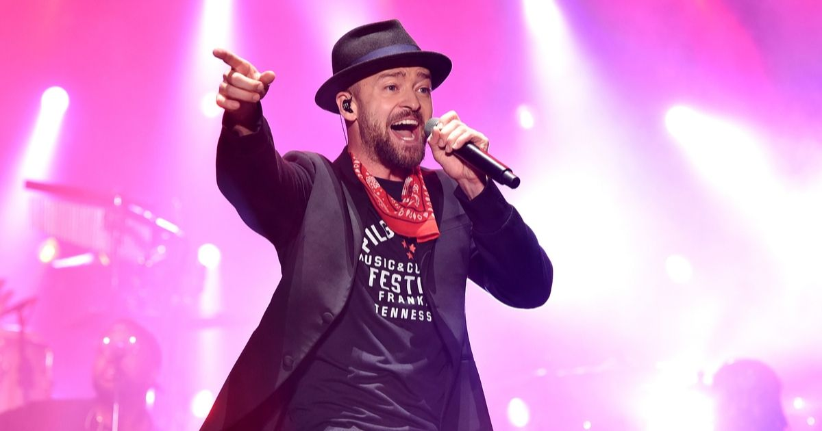Justin Timberlake performs at the 2017 Pilgrimage Music & Cultural Festival on September 23, 2017