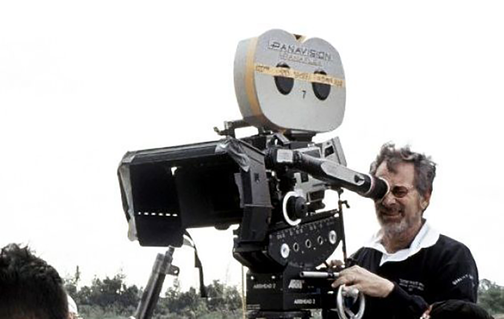 Steven Spielberg behind the camera