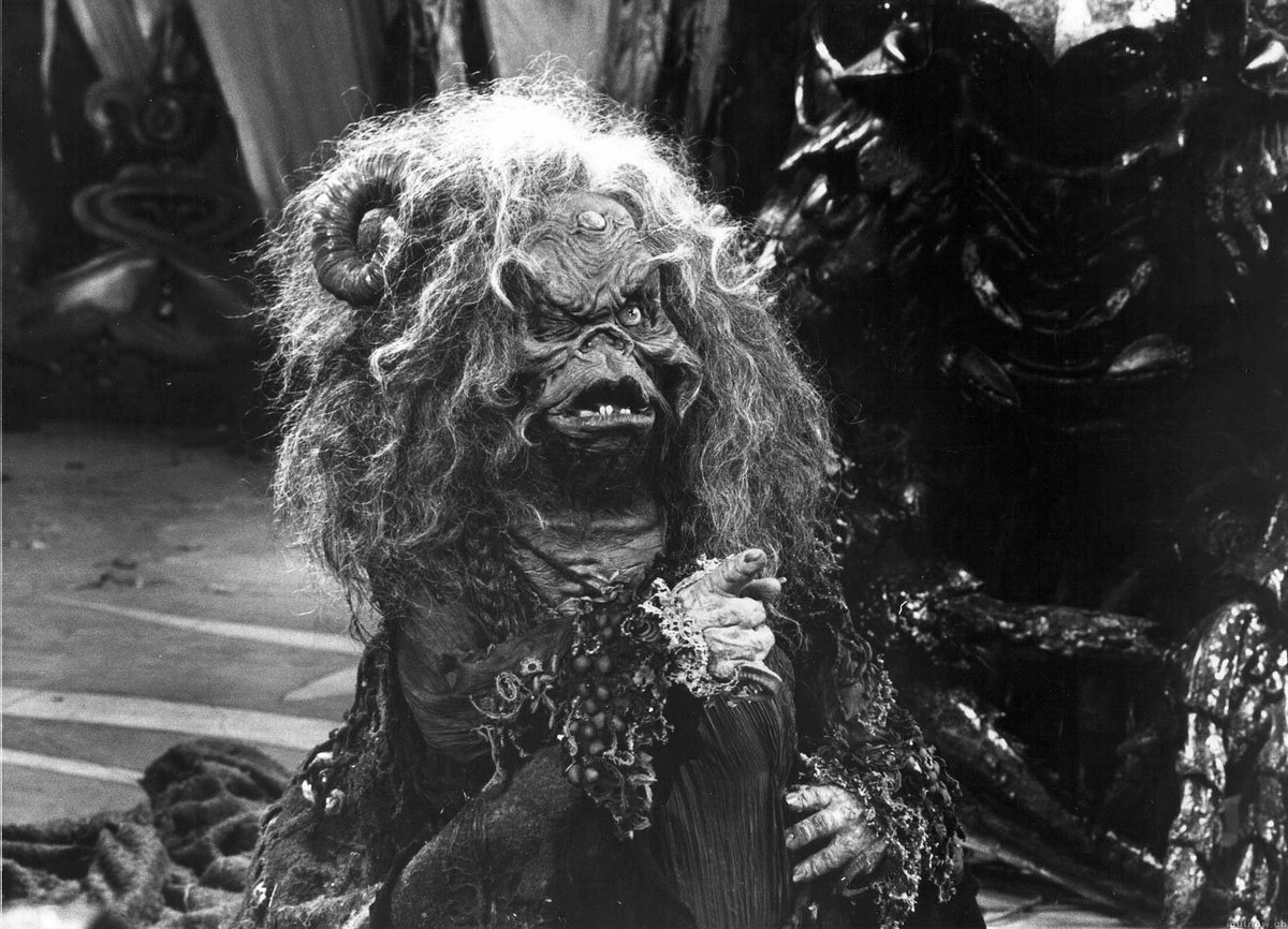 a shot of aughra from the dark crystal