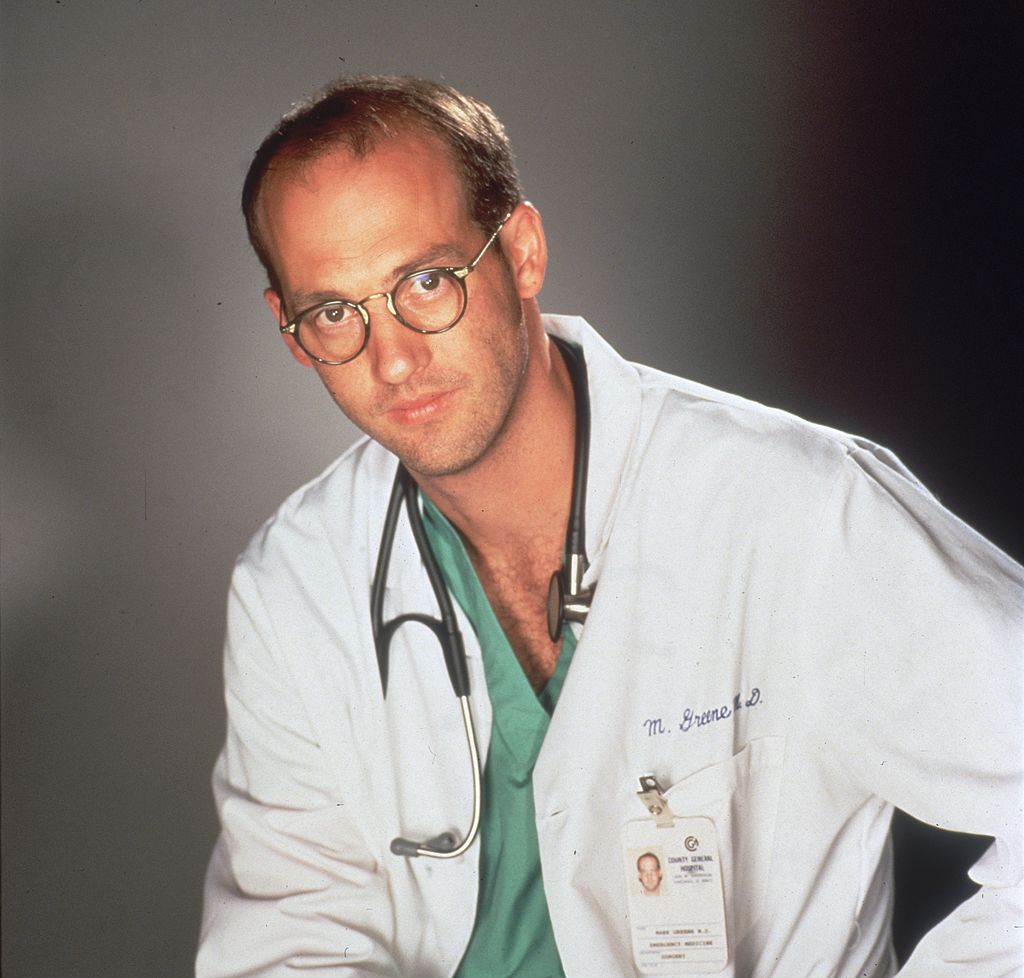 American actor Anthony Edwards, star of the television series, 'E.R.'