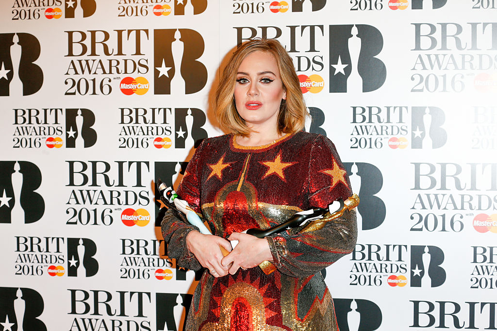 Adele went all out for this Brit Award event