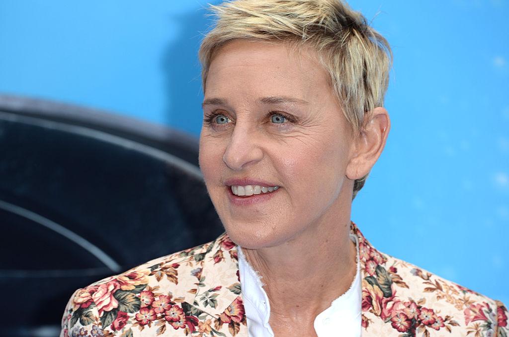 Ellen DeGeneres attends the UK Premiere of