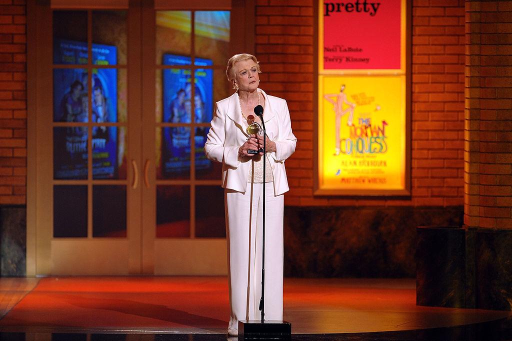 Angela at the Tony Awards