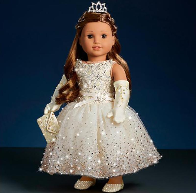 Swarovski American Girl Doll
