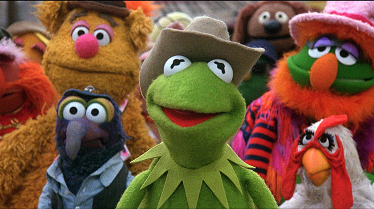The Muppets Movie in 1979