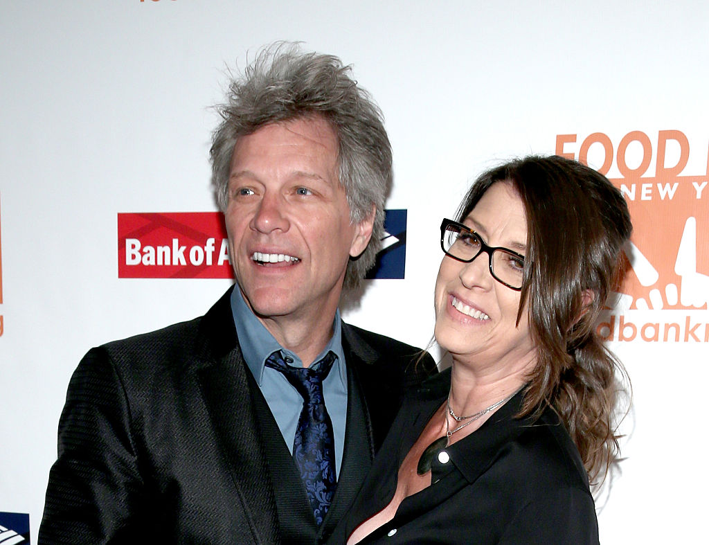 jon bon jovi and wife dorothea hurley posing for a red carpet photo