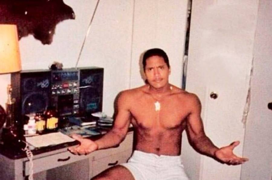 The Rock Looked Like A Grown Man At Age 15