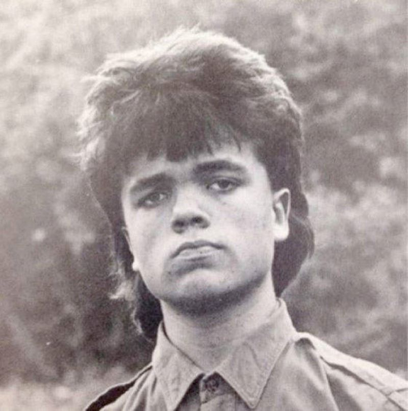 Peter Dinklage Rocked A Mullet Before Playing The Game Of Thrones