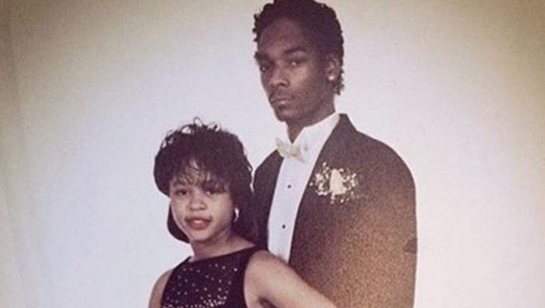 snoop dogg in a tuxedo with wife shante broadus