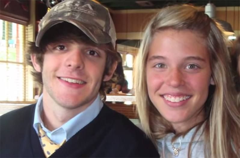 thomas rhett and lauren akins posing for a photo in 2007