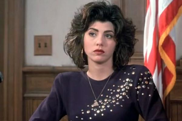 marisa tomei as mona lisa testifying in court