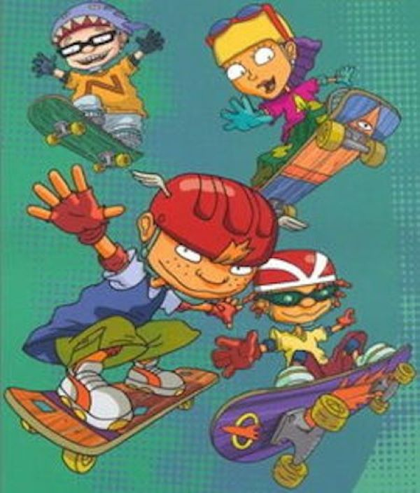 Action Kids In Play Position, Rocket Power!
