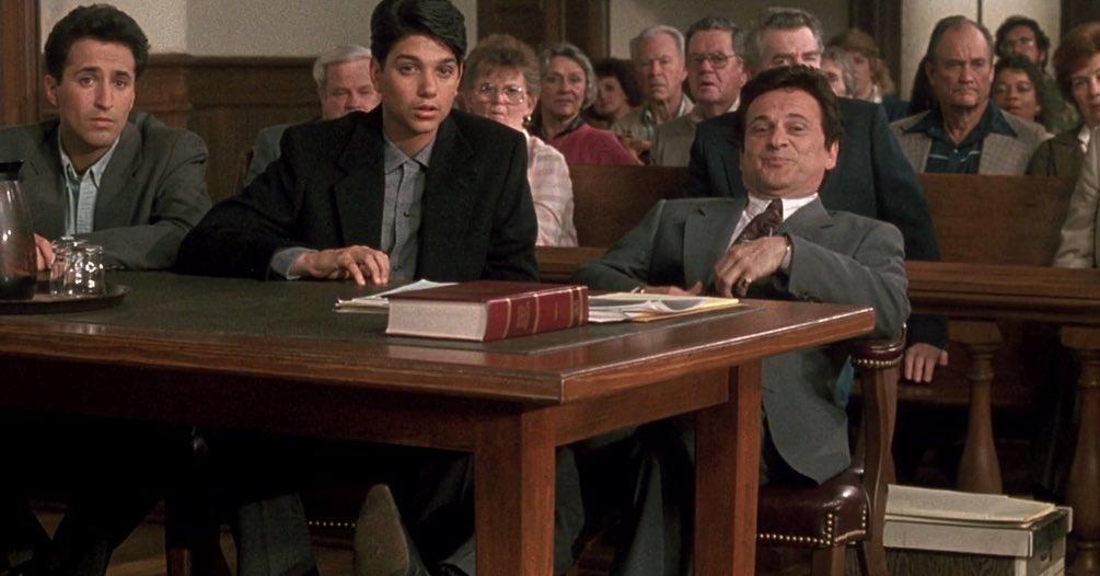 my cousin vinny three men courtroom scene