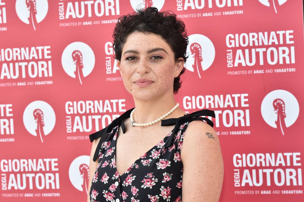 Alia Shawkat attends the MiuMiu photocall during the 76th Venice Film Festival at Sala Volpi