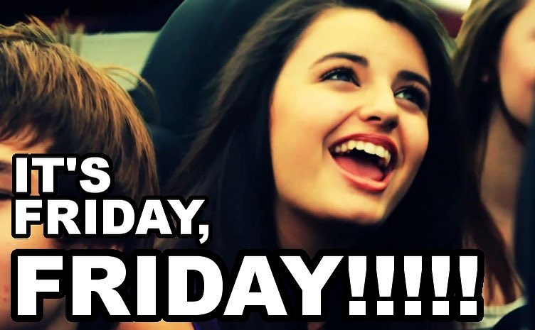 Rebecca Black sings during her Friday music video.